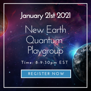 New Earth Quantum Playgroup with Laura Pieratt on January 21, 2021